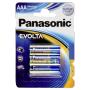 "Panasonic""1x4 Panasonic Evolta LR 03 Micro"""