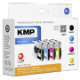 "Kmp""B37V Multipack BK/C/M/Y kompatibel mit Brother LC-1240 [EURO-Version]"""