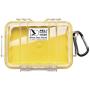 """Peli""""Micro Case 1020 gelb / transparent"""""""