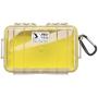 """Peli""""Micro Case 1040 gelb/transparent"""""""