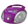 "Grundig""RCD 1445 USB Purple/Silber"""