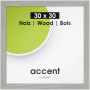 """Nielsen Design""""Nielsen Accent Magic 30x30 Holz Grau 9733001"""""""