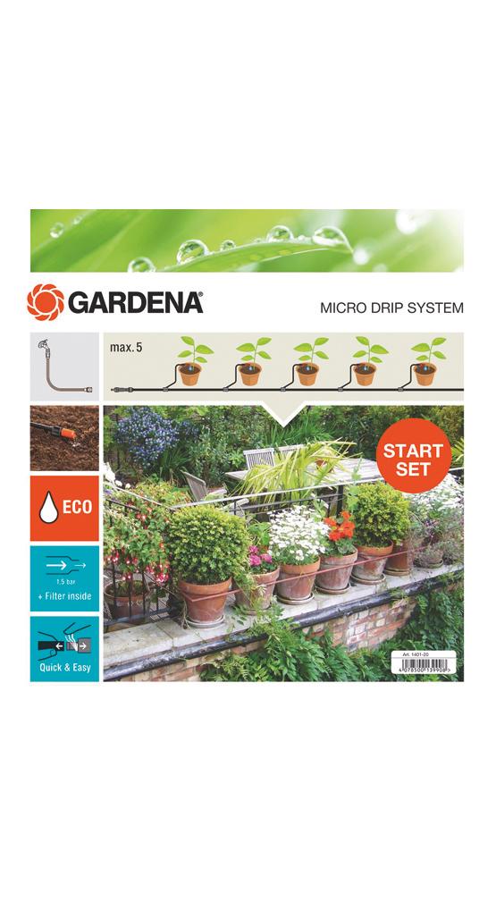 "Gardena""MDS Start-Set Pflanztöpfe S 13000, Tropfsystem"""