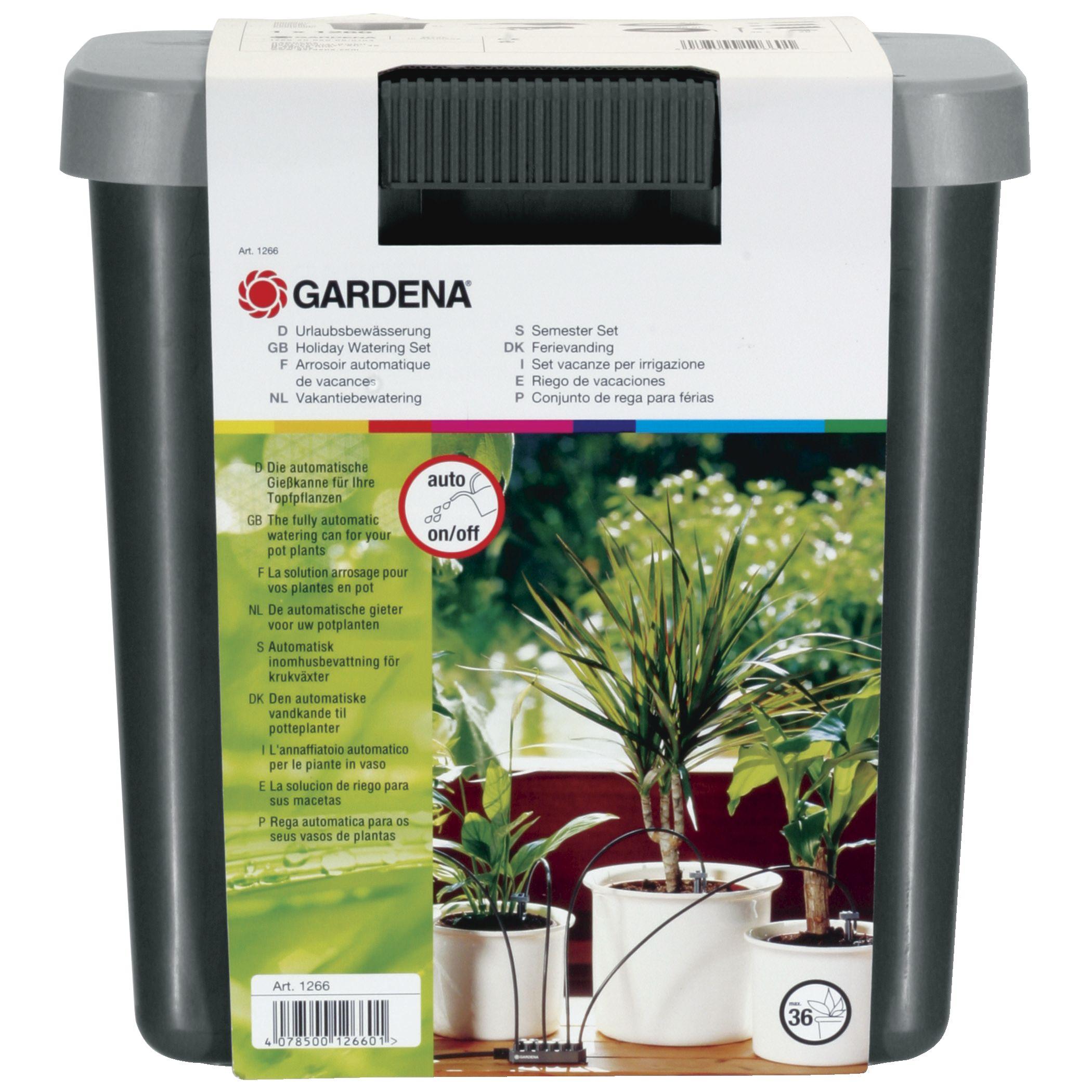 """Gardena""""city gardening Urlaubsbewässerung-Set (1266-20), Bewässerungsautomat"""""""
