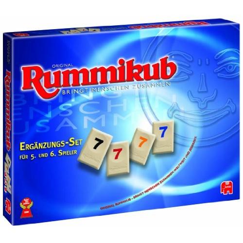 Original Rummikub, Supplement set for 5  and 6  Player (game accessories)