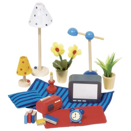 goki goki 51934 accessoires wohn und schlafzimmer f r. Black Bedroom Furniture Sets. Home Design Ideas