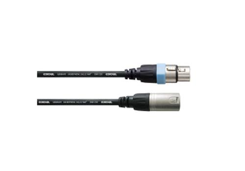 Cordial CCM 10 FM Mikrofonkabel 10 m XLR Stecker 3-polig Male Female REAN Black