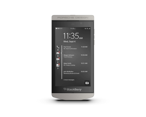 BlackBerry P'9982 Single SIM 4G 64GB Grey,Silver
