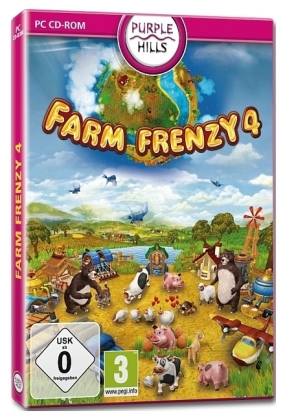 Farm Frenzy 4, 1 DVD-ROM [DE-Version]