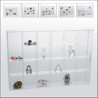 acryl vitrine mit 24 f cher acryl vitrine mit 24 f cher. Black Bedroom Furniture Sets. Home Design Ideas
