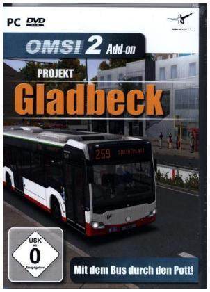 OMSI 2 AddOn, Projekt Gladbeck, 1 DVD-ROM