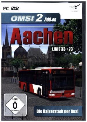 OMSI 2 - AddOn Aachen, 1 DVD-ROM