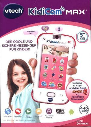 Vtech German Language Kidicom Max Pink 5 Lcd B Ware Kidicom